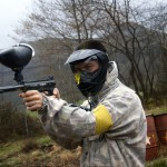 apuntando paintball en asturias