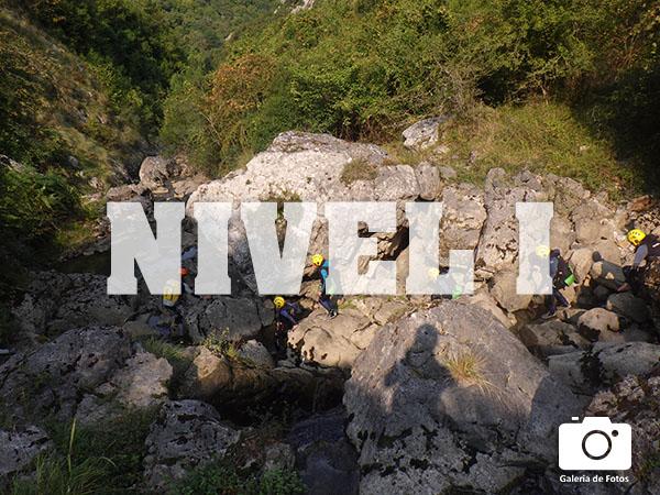 barranquismo nivel I asturias