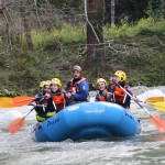 rafting asturias en el rio sella