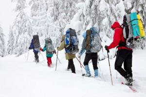 rutas con raqeutas de nieve en asturias