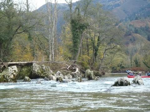 rio sella, la presa
