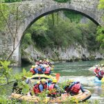 Rafting Asturias, descenso del Sella